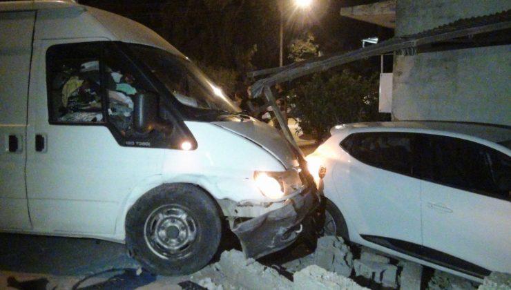 Kazaya karışan aracın sürüsü kayıplara karıştı