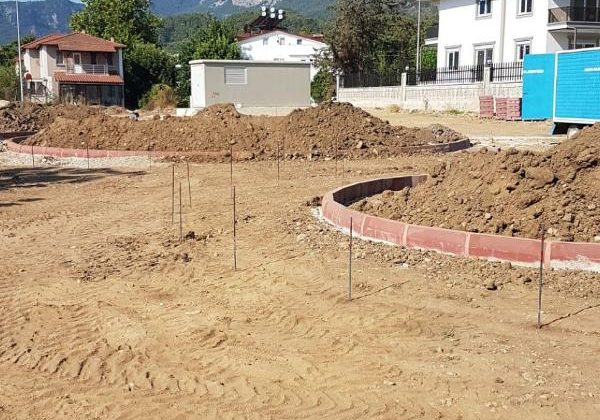 Kemer Belediyesi'nden Kuzdere'ye ilk park