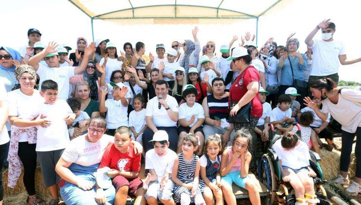 Kepez Belediyesi, otizmli çocukları Antalya Orman Çiftliği'nde ve Macera Ormanı'nda ağırladı.