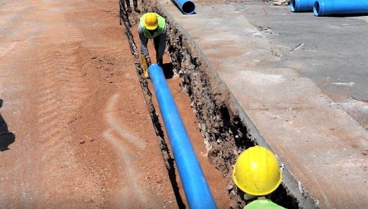Kepez ve Muratpaşa'da 101 mahallenin içme suyu hattı yenileniyor