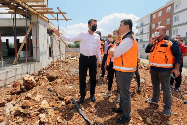 Kepez'in doğu yakası spor salonuna kavuşuyor