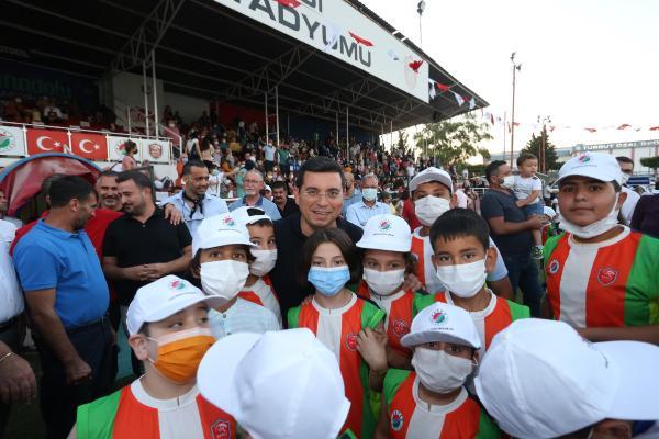 Kepez'in yaz spor okulları açıldı