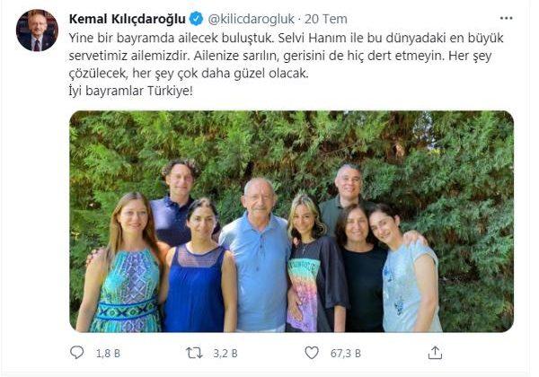 Kılıçdaroğlu, bayramda Antalya'da