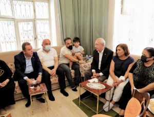 Kılıçdaroğlu'ndan taziye ziyareti