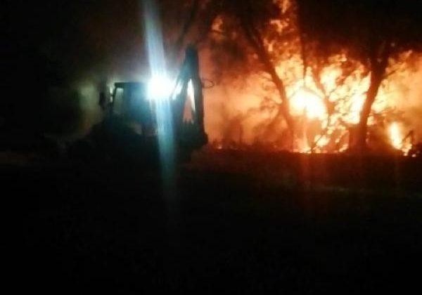 Kırkgöz Gölü çevresinde iki yangın
