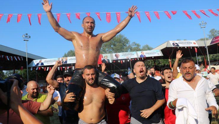Kırkpınar'da başpehlivan Ali Gürbüz