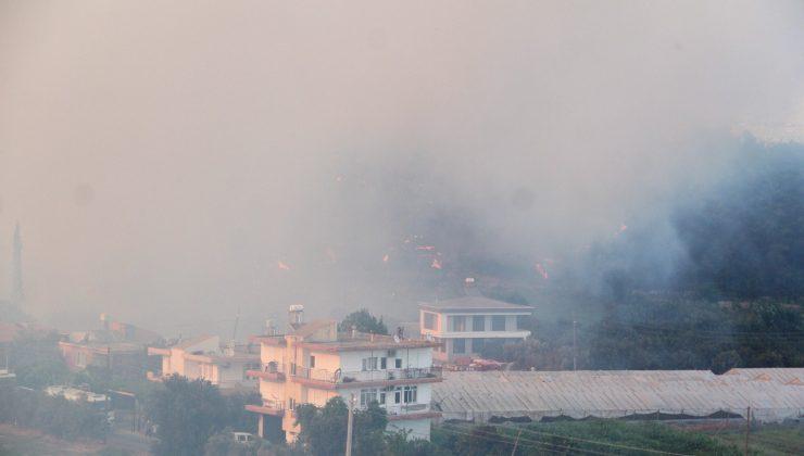 Komandolar yangın bölgesinde