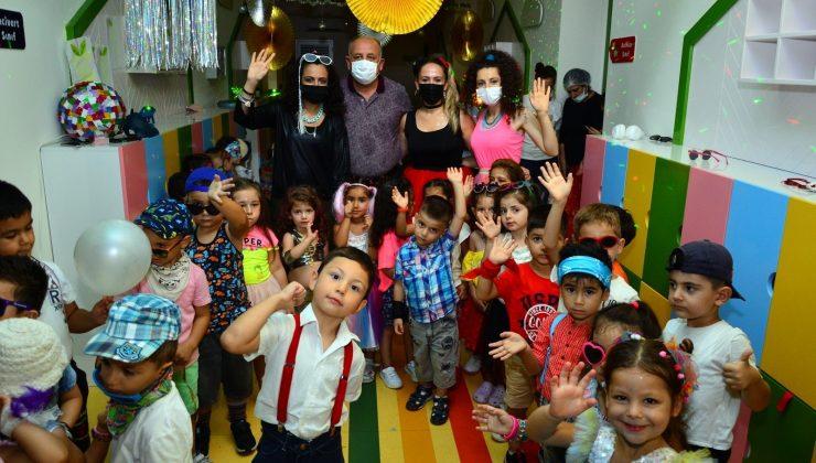 Kreş öğrencileri gönüllerince eğlendi