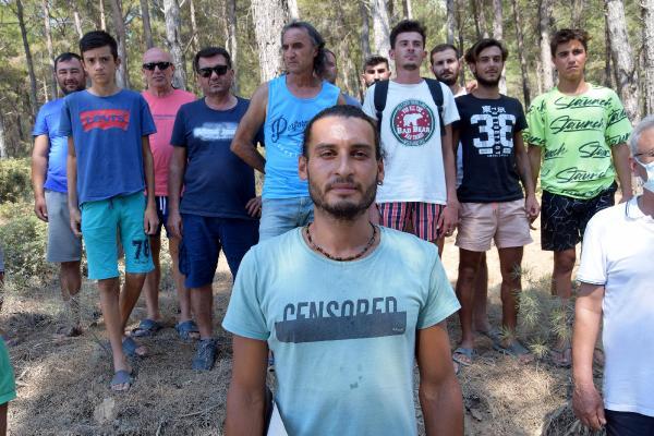 Kumluca'da 80 genç, yangına karşı 24 saat ormanlarda nöbet tutuyor