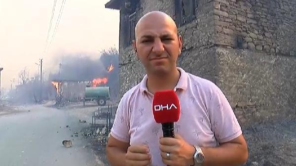 Manavgat'ta 4 ayrı noktada orman yangını (10)