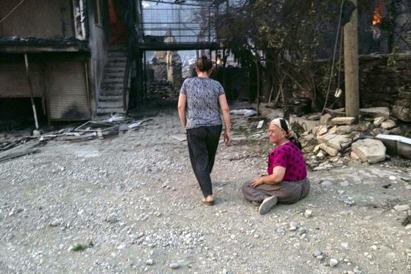 Manavgat'ta 4 ayrı noktada orman yangını (18)