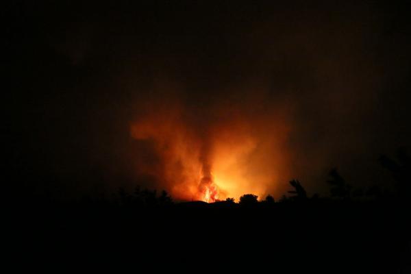 Manavgat'ta 4 ayrı noktada orman yangını (19)