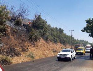 Manavgat'ta kırsal alan yangını