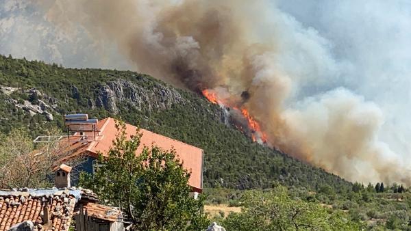 Manavgat'taki büyük yangın 3'üncü gününde (12)
