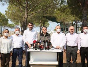 Manavgat'taki büyük yangın 3'üncü gününde (5)