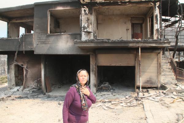 Manavgat'taki büyük yangın 3'üncü gününde (8)