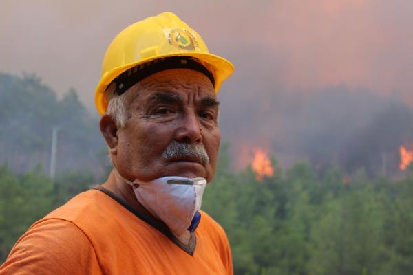 Manavgat'taki büyük yangın 4'üncü gününde; 2 orman işçisi yaşamını yitirdi (3)