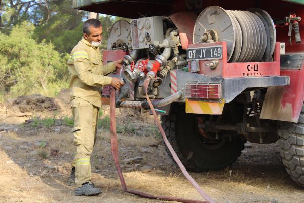 Manavgat'taki büyük yangın 4'üncü gününde; 2 orman işçisi yaşamını yitirdi (6)