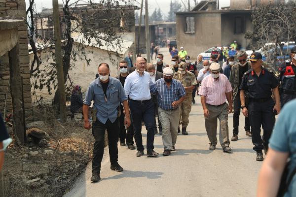 Manavgat'taki büyük yangın 4'üncü gününde; 2 orman işçisi yaşamını yitirdi (8)
