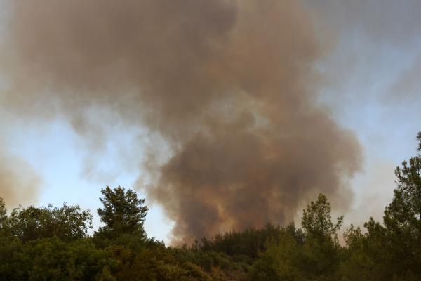 Manavgat'taki büyük yangın 4'üncü gününde; 2 orman işçisi yaşamını yitirdi (9)