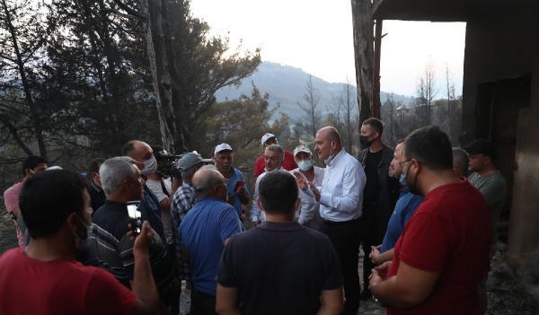 Manavgat'taki büyük yangın 4'üncü gününde