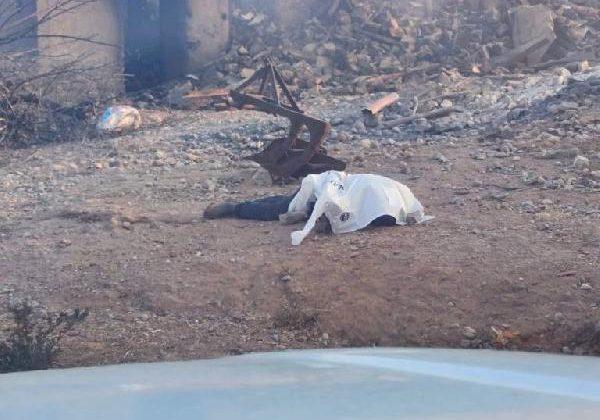 Manavgat'taki büyük yangında 2'nci gün; 1 ölü (5)