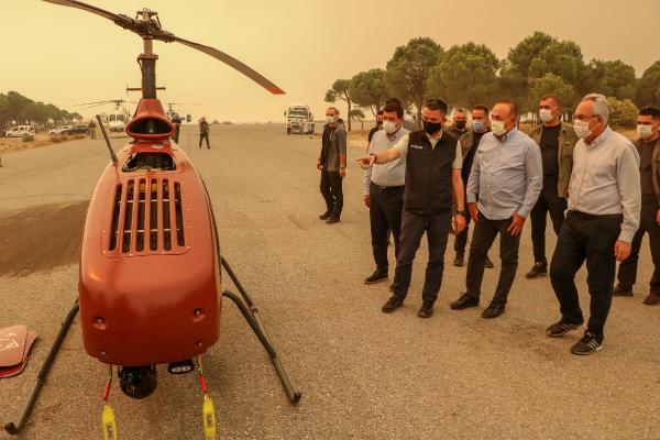 Manavgat'taki büyük yangında 2'nci gün; 1 ölü (7)