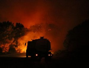 Manavgat'taki büyük yangında 2'nci gün; 3 ölü (28)