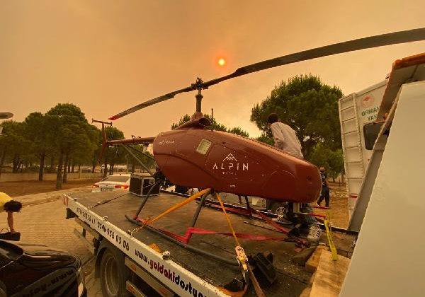 Manavgat'taki büyük yangında 2'nci gün; bir mahalle daha boşaltıldı (3)