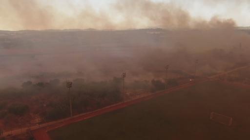 Manavgat'taki orman yangınını söndürme çalışmaları sürüyor