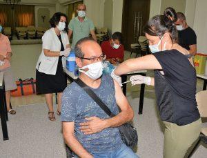 MATSO üyeleri ve ailelerine toplu aşı uygulaması