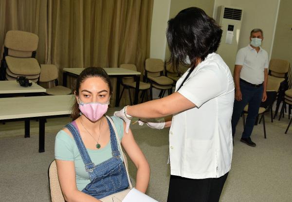 MATSO üyelerine toplu aşı uygulaması