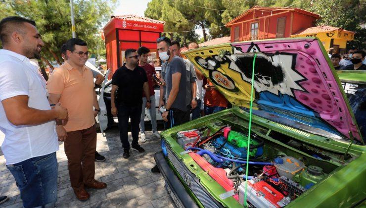 Modifiye araçlar DokumaPark'ta görücüye çıktı