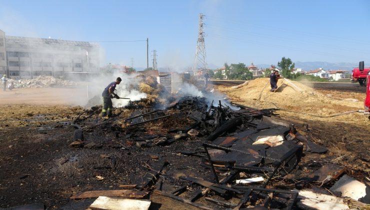 (ÖZEL) Alevler kümeslerdeki hayvanları vurdu, yürek sızlatan görüntüler ortaya çıktı