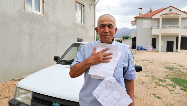 (ÖZEL) Antalyalı çiftçiye hiç gitmediği İstanbul'dan 20 farklı trafik cezası geldi