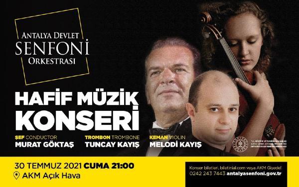 Senfoni konseri iptal edildi