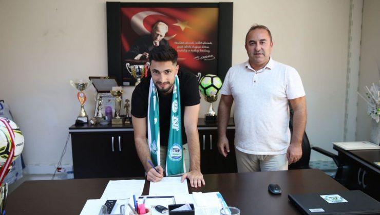Serik Belediyespor'da yeni transfer imzayı attı