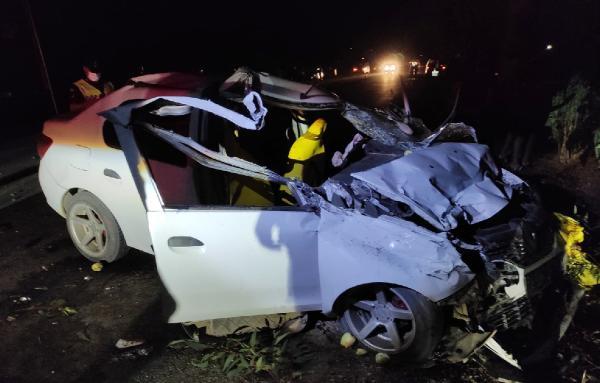 Serik'te kaza: 4 yaralı