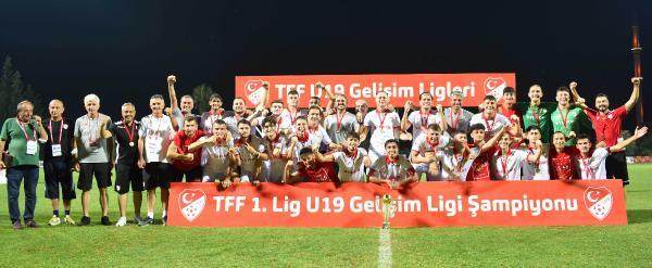TFF 1. Lig U19'da şampiyon Yılport Samsunspor