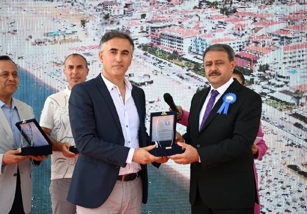 TÜRÇEV'den Büyükşehir'e 2'nci ödül