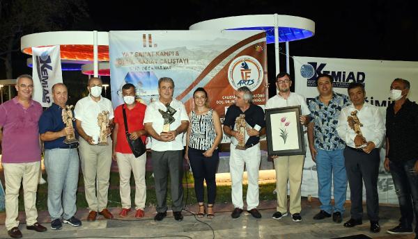 Yaz Sanat Kampı ve Kültür Sanat Çalıştayı sona erdi