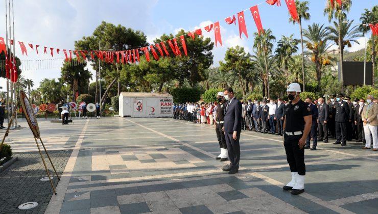 30 Ağustos Alanya'da törenle kutlandı