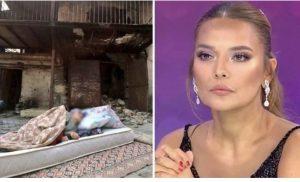 Yürek sızlatan fotoğraftaki Fatma Teyze'nin yanan evini Demet Akalın yaptırıyor