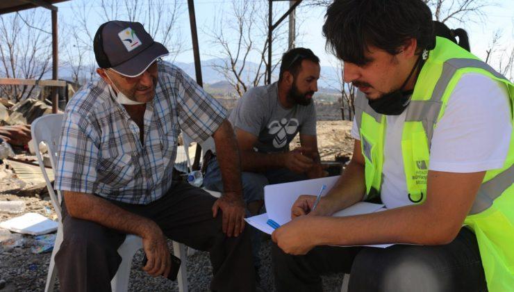 Afet bölgesinde sosyal yardım çalışmaları devam ediyor