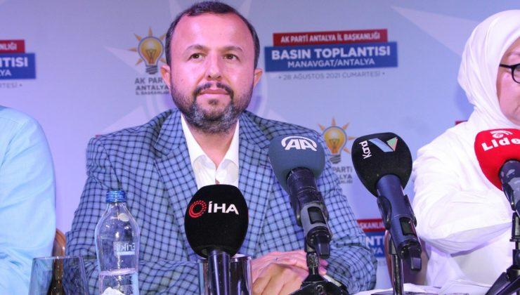 """AK Parti İl Başkanı Taş:"""" Yangın nedeniyle zarar görenlerin hesaplarına toplam 35 milyon 664 bin lira yatırıldı"""""""