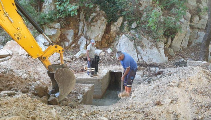 Akseki Güçlüköy'ün su problemi çözüldü