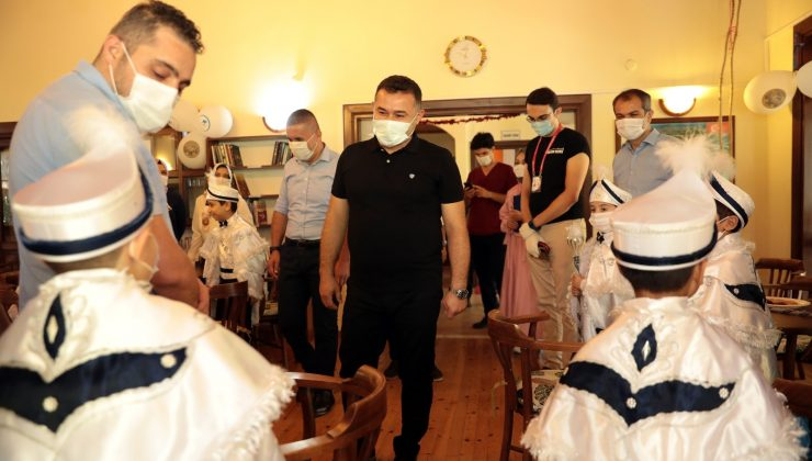 Alanya Belediyesi'nden 70 çocuğa sünnet hizmeti