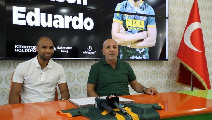 Alanyaspor, Portekizli Eduardo'yu kadrosuna kattı
