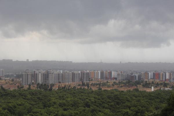 Antalya'da beklenen yağış başladı/ Ek fotoğraflar