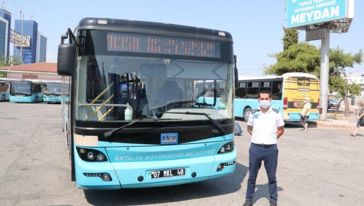 Antalya'da maske takmayan kadının hakaret ve tehditler yağdırdığı otobüs şoförü konuştu